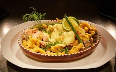 """Käsespätzle & Schokocrepes–Cannelloni á la """"Leinefelder Lämmerschwänze"""""""